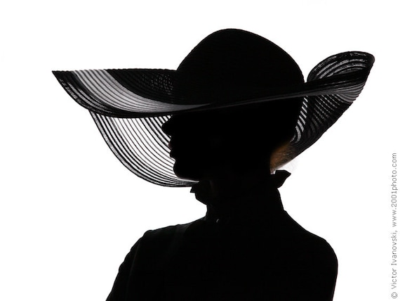items similar to portrait photography silhouette womens