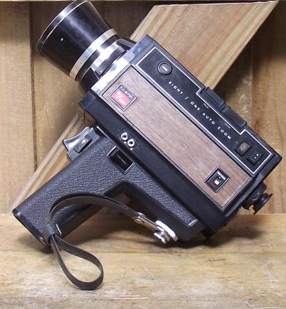 sears c 131 vintage super 8 camera by daytonavintage on etsy. Black Bedroom Furniture Sets. Home Design Ideas