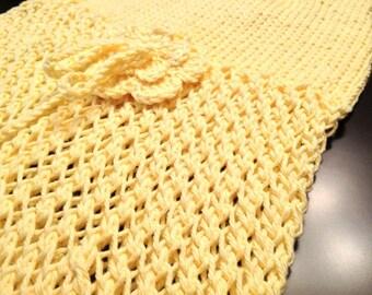 Custom Hand Knitted Spring Dress