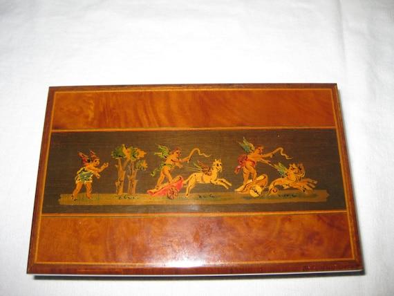 Stinga Tarsia - Sorrento Italy - wood inlay box - one of a kind