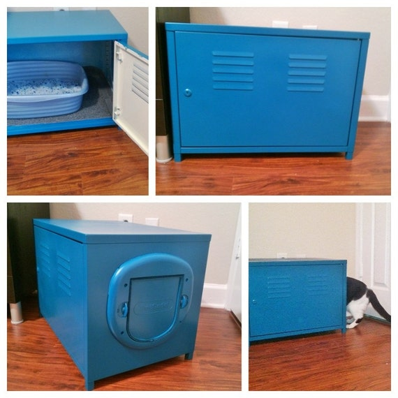 Litter box furniture by modcatfurniture on Etsy