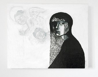 Original Labaste's Art acrylic on canva painting
