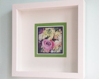 Bouquet. Framed Photo.