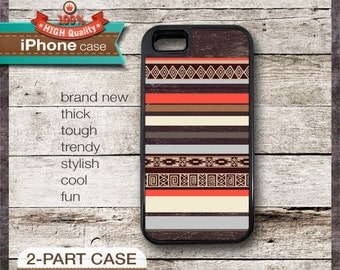 iPhone 6, 6+, 5 5S, 5C, 4 4S, Samsung Galaxy S3, S4 Modern Graphic No. 40 Aztec Tribal Geometric design