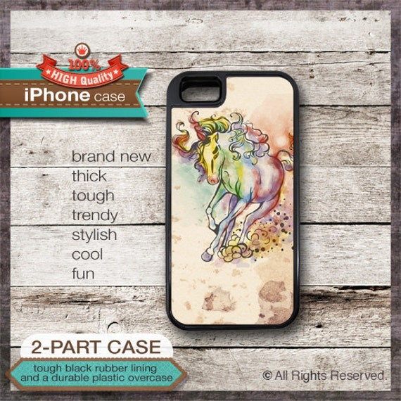 iPhone 4/4S or 5 Case Horse Design No. 3