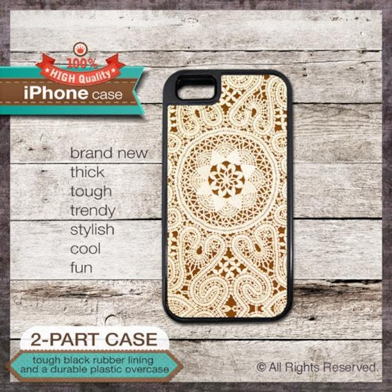 Vintage Lace 08 Design - iPhone 6, 6+, 5 5S, 5C, 4 4S, Samsung Galaxy S3, S4