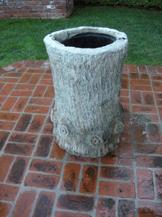 Faux Bois D Argent : Faux Concrete Tree Trunk