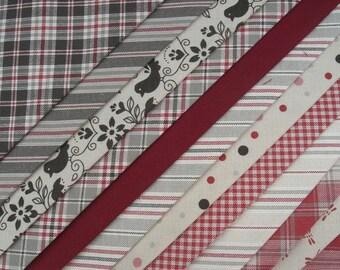 """Fabric package """"Bern"""" 12 pieces 48x48 cm Cotton Westfalen"""