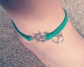 Anchor/Helm anklet