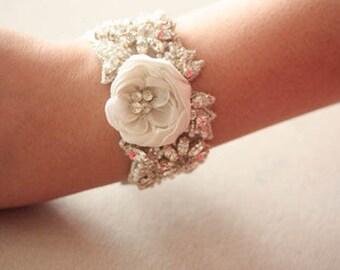 Spring Fashion Wedding Bracelet - Paniz (Made to order)
