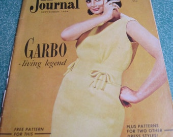 Vintage Australian Home Journal 1964 with Free Sewing Pattern