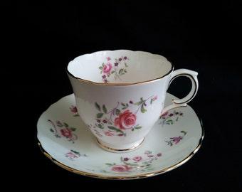 Royal Victoria Cup & Saucer Fine Bone China Vintage