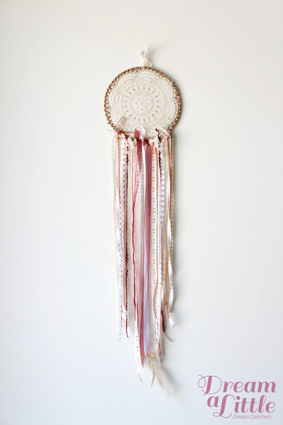 Doily Dreamcatcher (Earth Colours)