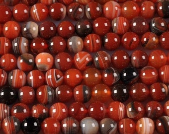 "8MM29 8mm Dream onyx agate round looose gemstone beads 15"""