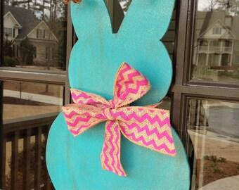Easter Door Hanger: Easter Bunny Door Hanger