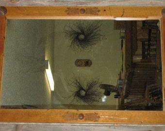 BARNWOOD MIRROR- Barn Door Mirror