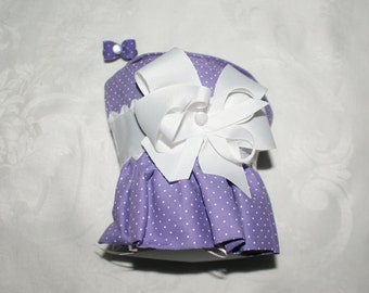 Ruffled Lavender Harness