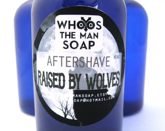 Raised by Wolves Aftershave Handmade 4oz