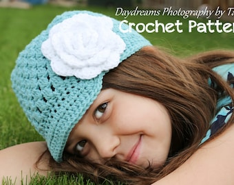 Crochet Pattern - Jemma Jane's Newsboy