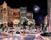 Moonlight Over Asheville