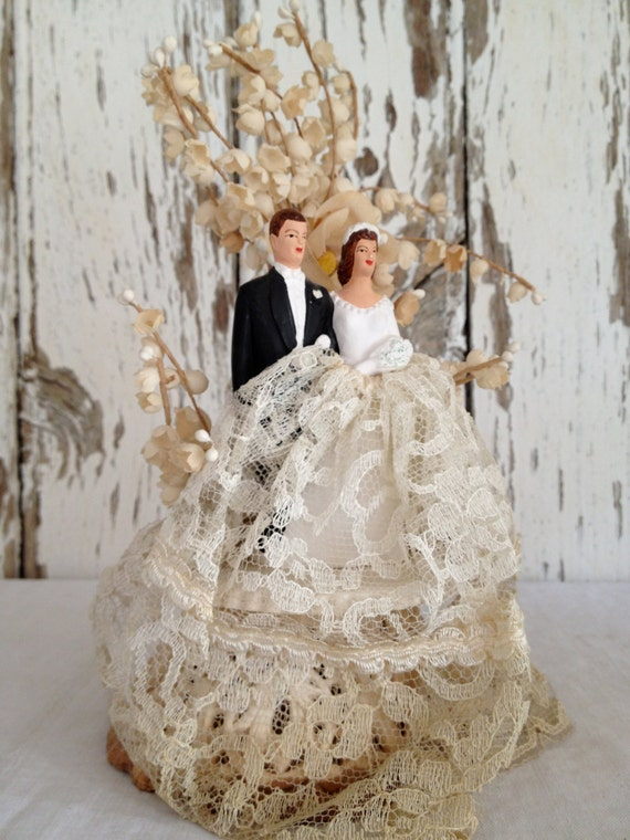 Antique Wedding Cake Topper