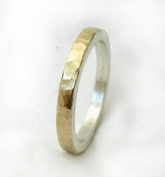 Affordable sterling silver rings - Handmade Sterling Silver Band Ring