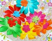 Assortiment de fleurs embellissements - Flower Power - point 328