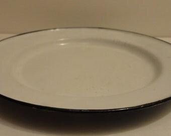 Granite Plate ~ FREE Domestic Shipping