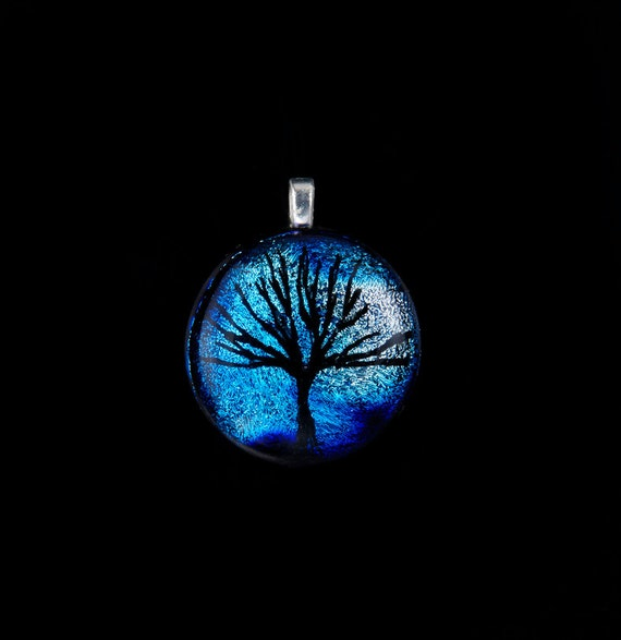 ABGlassJewelry Tree of Life Pendant
