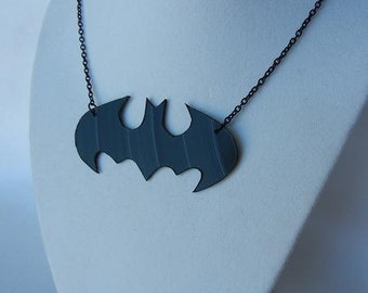 Batman Original Logo Vinyl Record Necklace