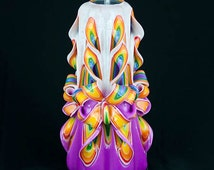 Christmas Gift - Christmas Candles - White Candle -Colorful Candle - Large candle