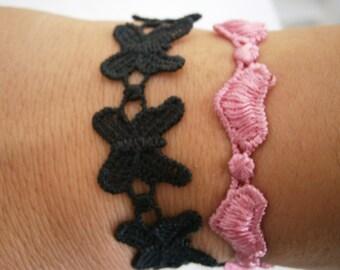 Lace bracelets (5pcs set)