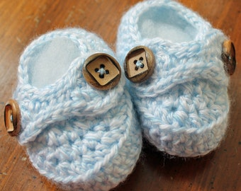 Baby Booties - Blue Boy Baby Booties