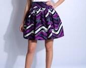skirt mini printed