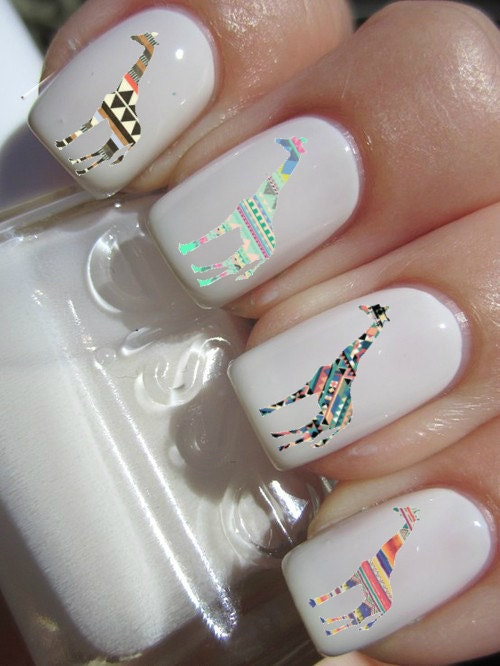 Indian Ocean Polish: How to make your own nail decals part 2!