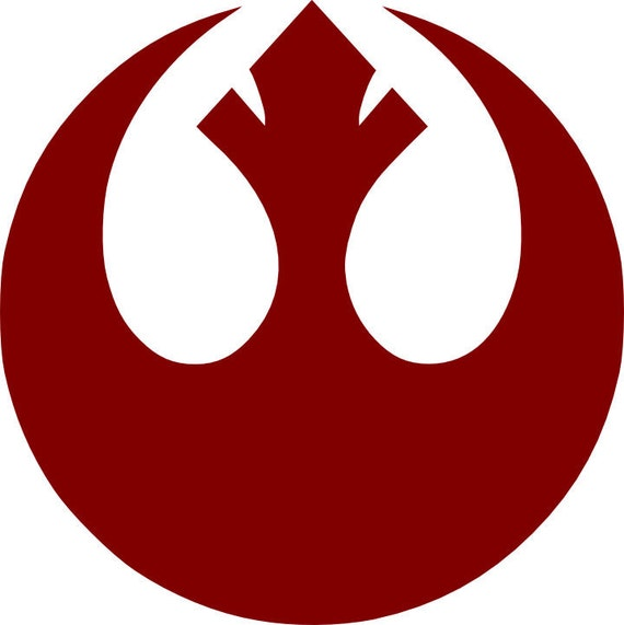 Star Wars Rebellion Vinyl Decal Sticker