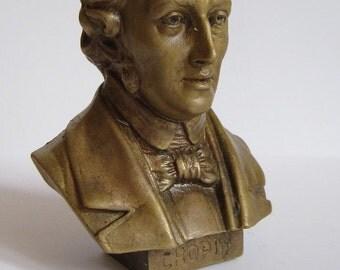 Bronze Bust Shopin Figure Sculpture