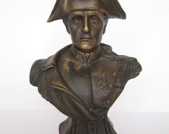 Bronze Bust  Napoleon  Figure Sculpture