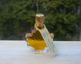 50 ml Glass Maple Leaf of Adirondack Maple Syrup