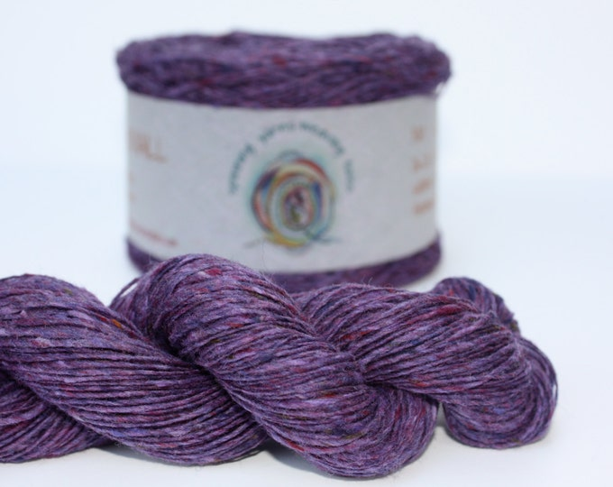 Spinning Yarns Weaving Tales - Tirchonaill 532 Lavender 100% Merino for Knitting, Crochet, Warp & Weft