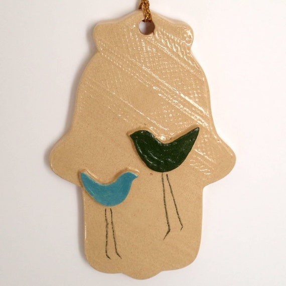 Home Decor Handmade Hamsa Ornament For Good Luck Lucy By Light4you