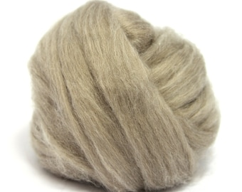 De-Haired Brown Chinese Cashmere Top / Roving - Spinning Fibre / Fiber - Felting