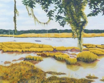 Beaufort Bay Limited Edition Print, 22x30 signed by artist unframed