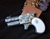 Steampunk Garter with Replica Derringer Pistol