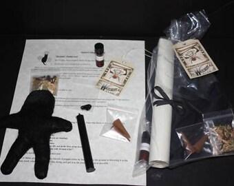 Binding Poppet spell kit handmade
