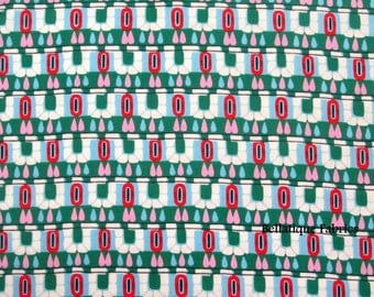 Clearance 1 Yard Amy Butler Hopscotch From the CAMEO Collection, in Pine