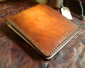 Leather Wallet Indy Relax (Brown Vintage)