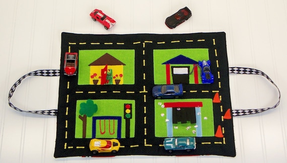 Travel And Car Storage Play Mat Pdf on 1950s matchbox cars