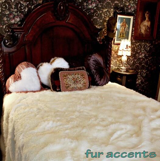 couvre lit fourrure en peluche couette couverture de jeter. Black Bedroom Furniture Sets. Home Design Ideas