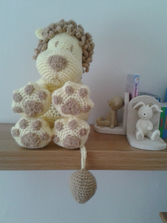 Lion Pillow Toy Cushion Amigurumi Crochet PATTERN